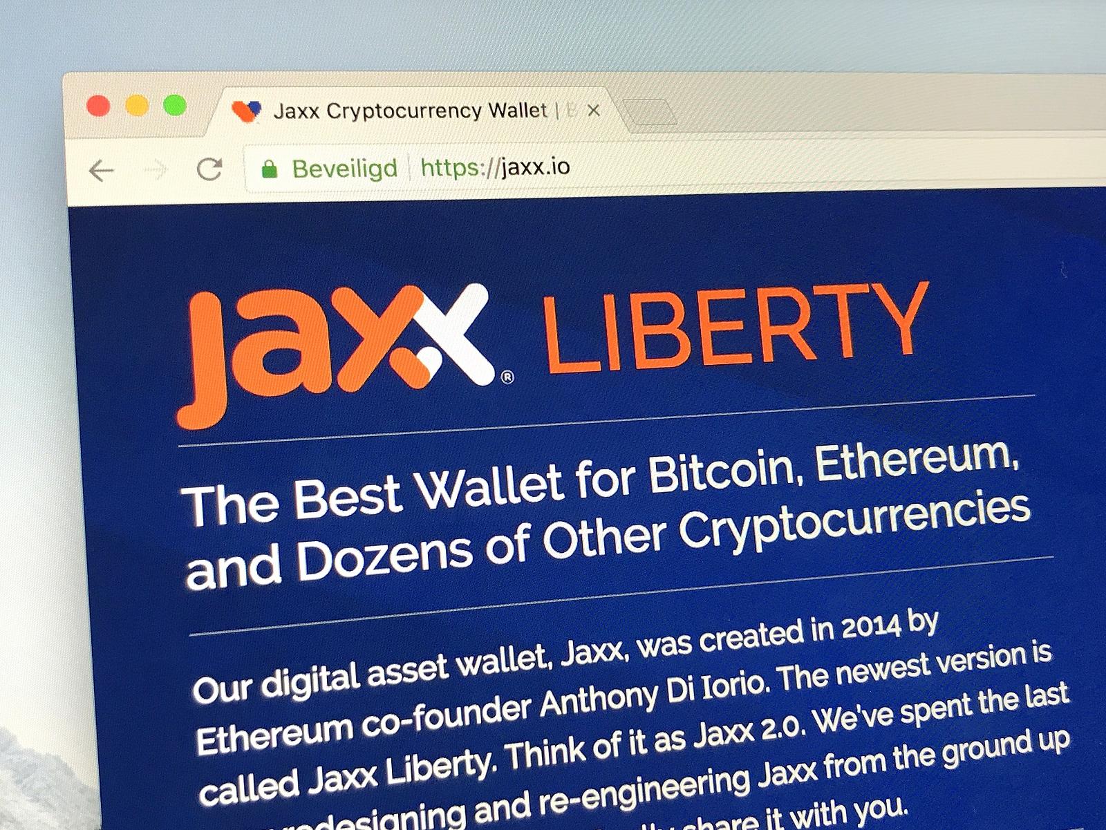 Jaxx wallet recovery